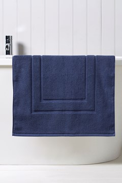 Brixton Bath Mat - midnight