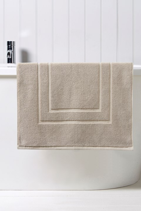Brixton Bath Mat - pebble