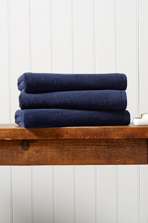 Brixton Bath Sheet - midnight