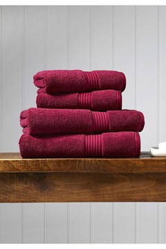 Christy Supreme Hygro Towel Collection - Raspberry - raspberry