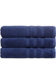 Christy Sloane Towel Collection - Navy - navy