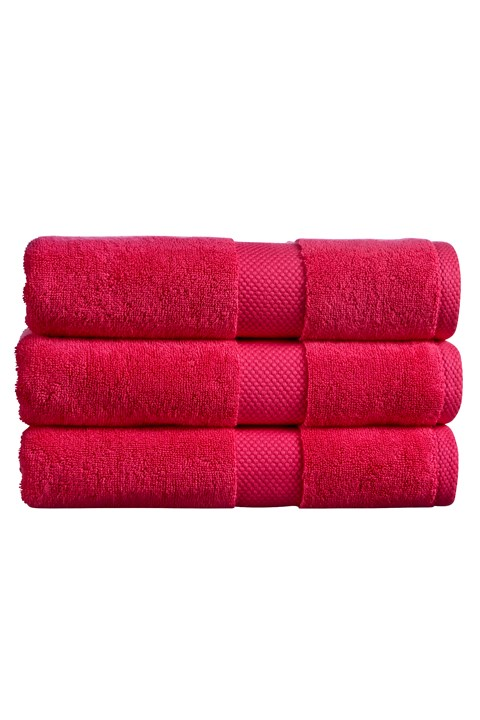 Newton Towel Collection - Raspberry - raspberry
