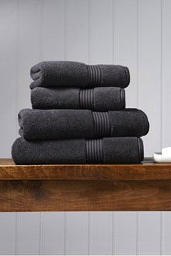 Christy Supreme Hygro Towel Collection - Graphite Graphite 1