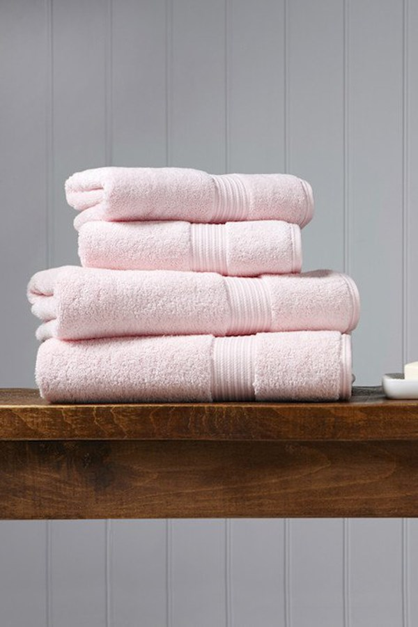 Christy Supreme Hygro Towel Collection - Pink