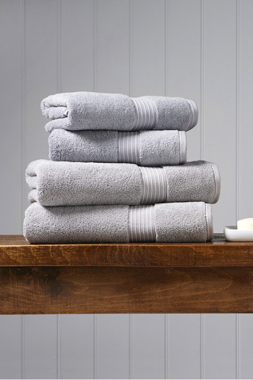 Christy Supreme Hygro Towel Collection - Silver