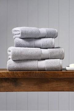 Christy Supreme Hygro Towel Collection - Silver Silver 1