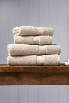 Christy Supreme Hygro Towel Collection - Stone Stone 1