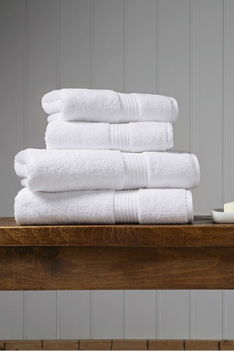Christy Supreme Hygro Towel Collection - White - white