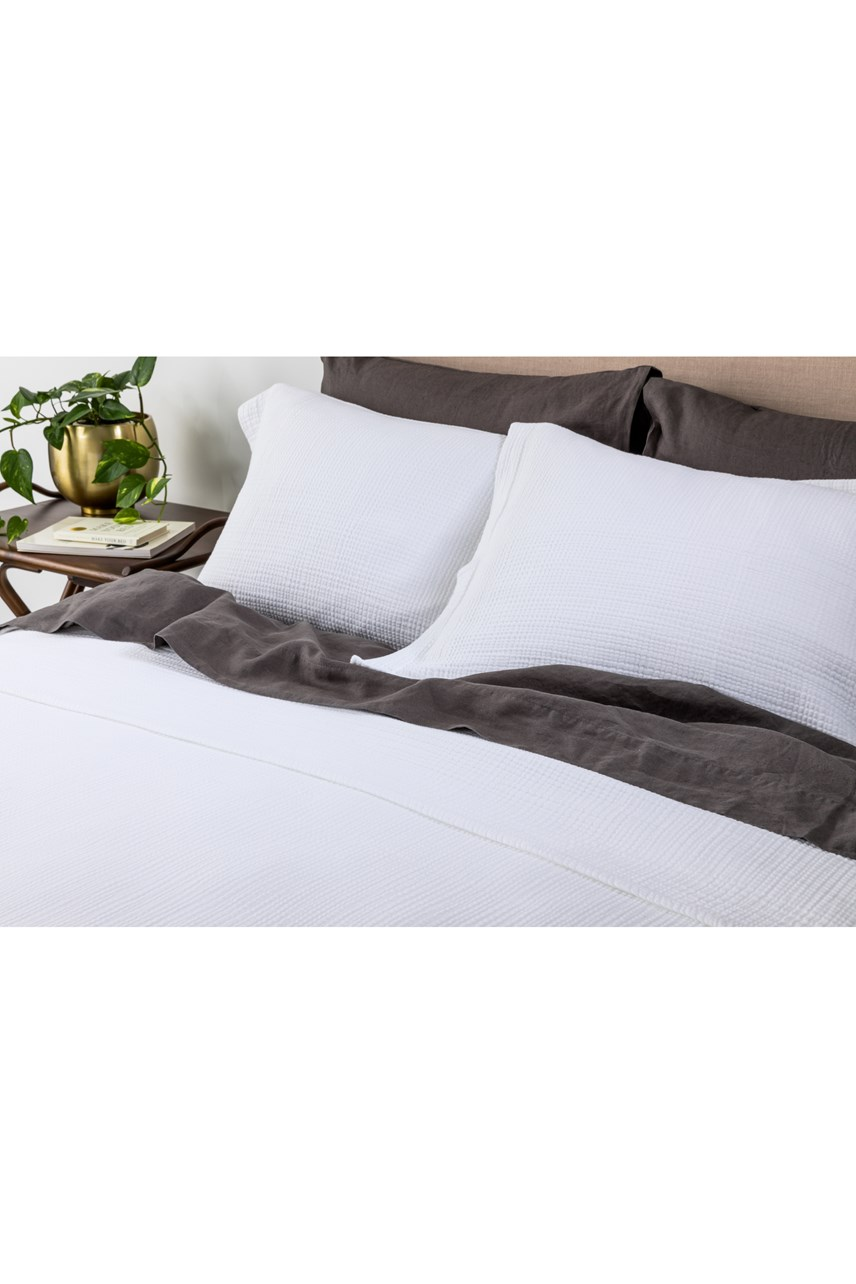 Santos White Euro Pillowcase
