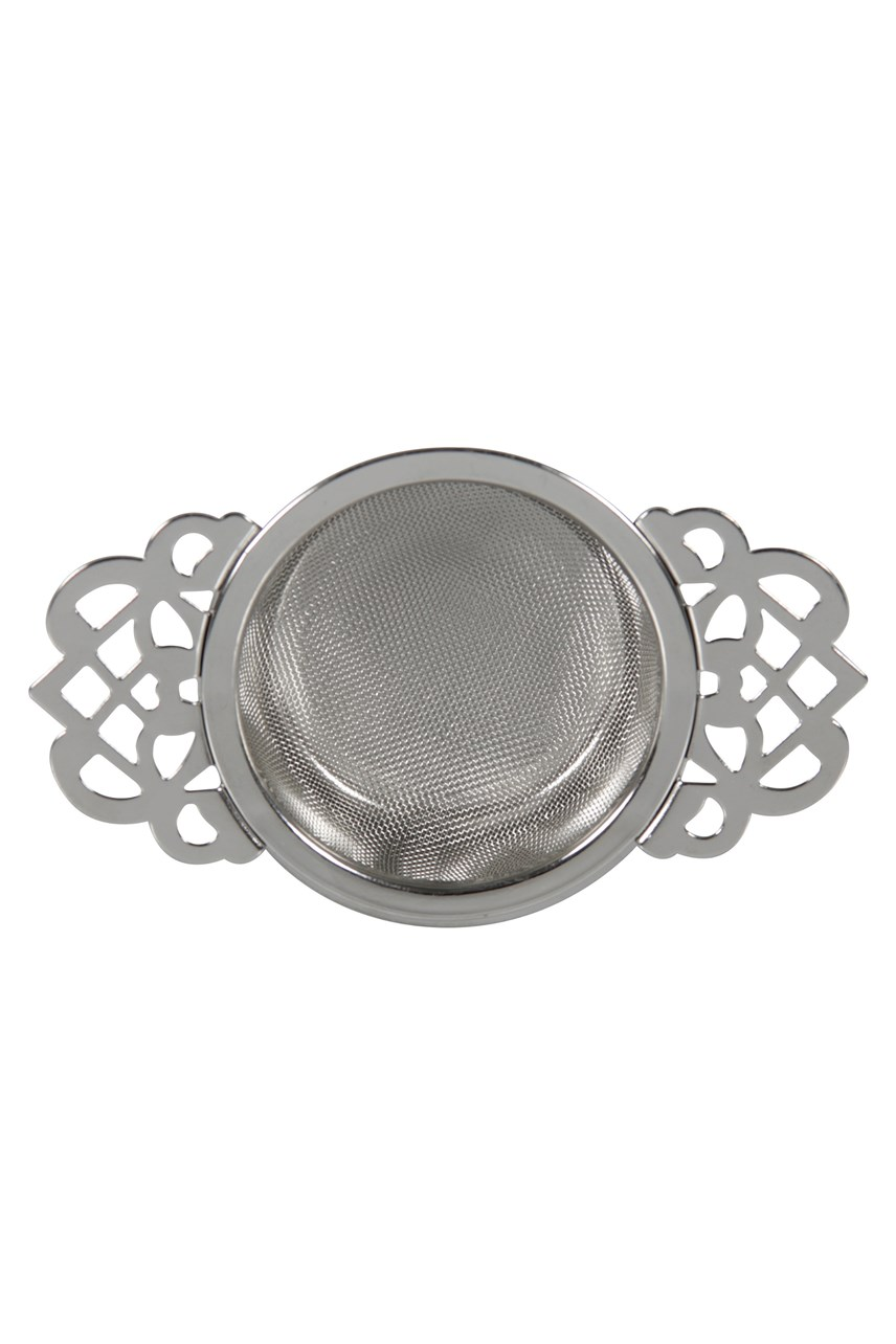 Empress Tea Strainer with Drip Tray
