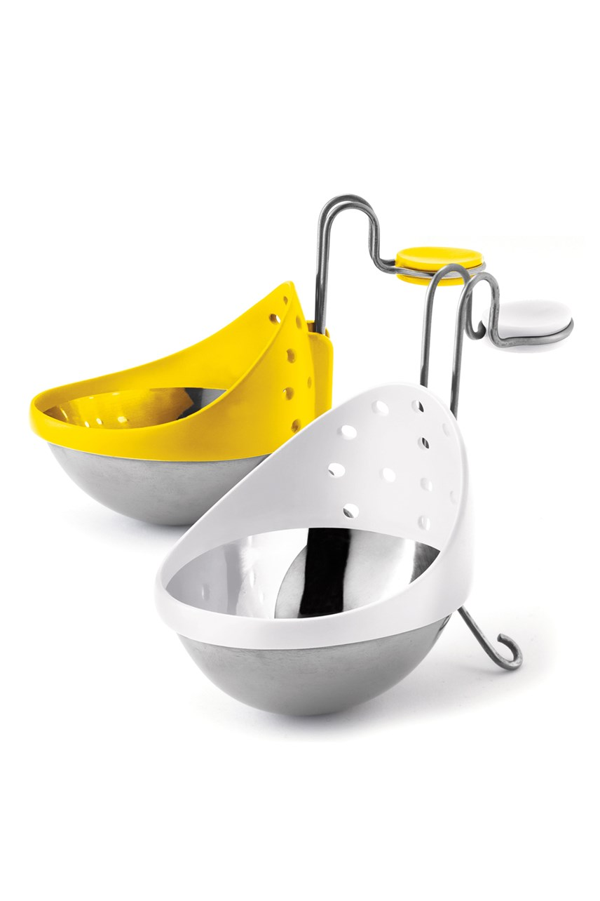 Stainless Steel Egg Poacher 2-Piece Set