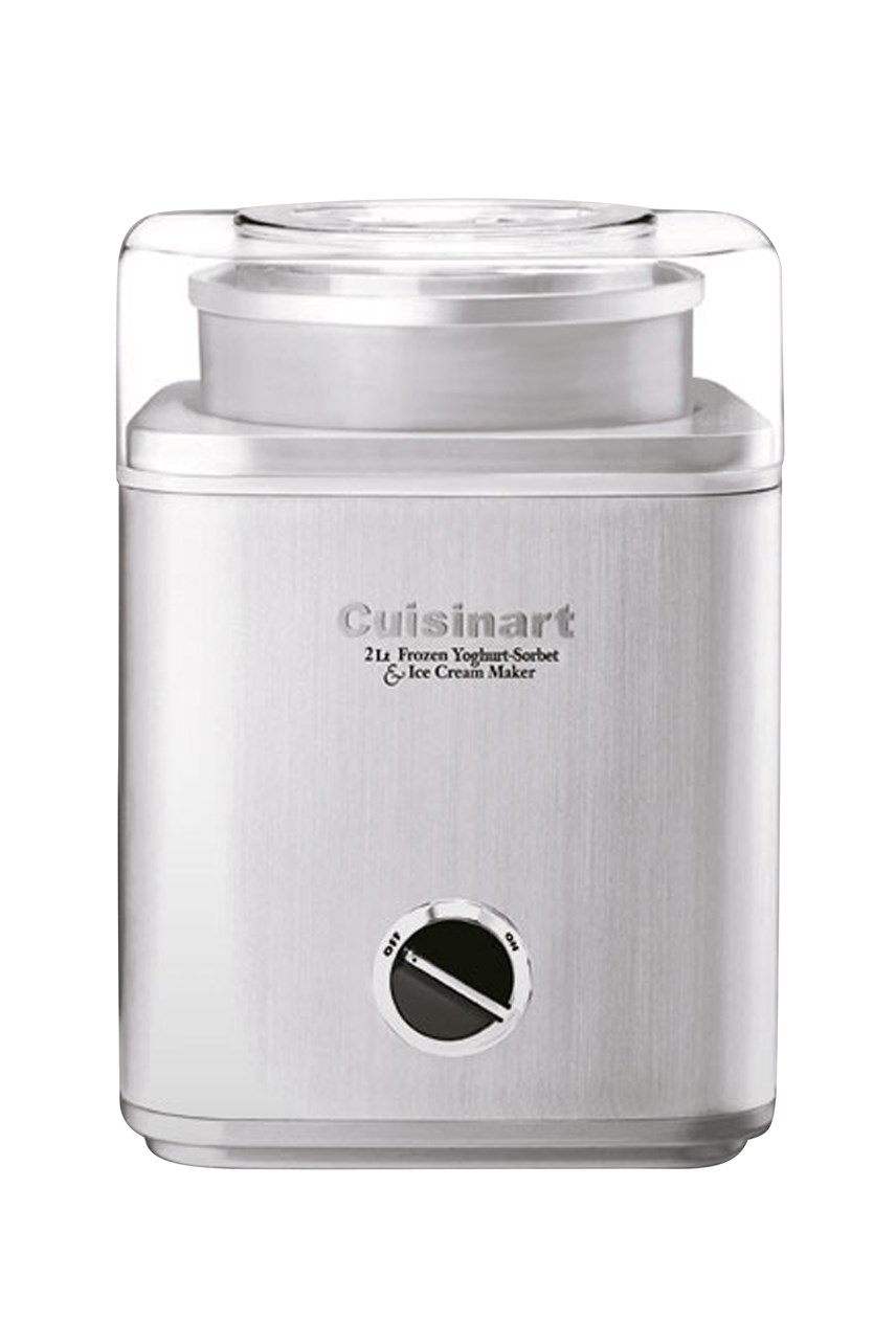 Ice Cream Maker - Brushed Stainless Steel