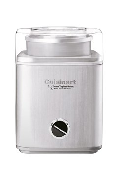 Ice Cream Maker - Brushed Stainless Steel Brushed Stainless 1