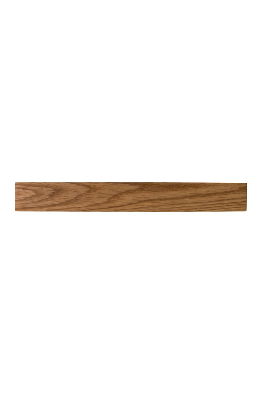 Solid Oak Magnetic Knife Rack - 45cm