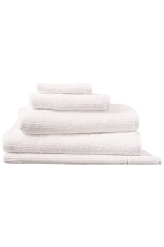 Living Textures Towel Collection - White WHITE 1