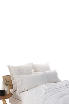 Abbotson Standard Fitted Sheet WHITE 1