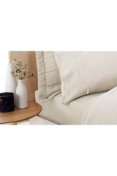 Abbotson Standard Fitted Sheet FLAX 1