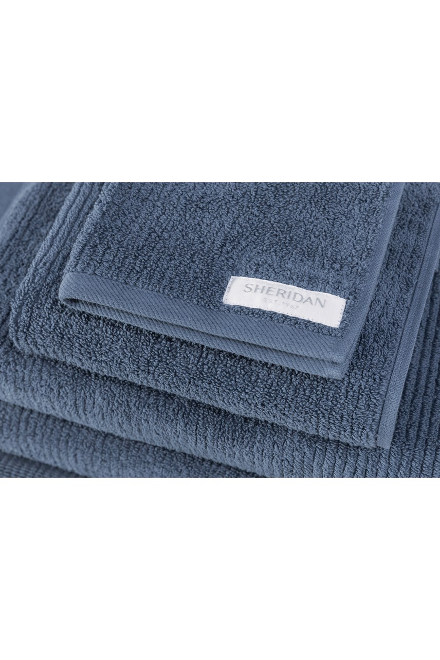 Living Textures Towel Collection - Sapphire