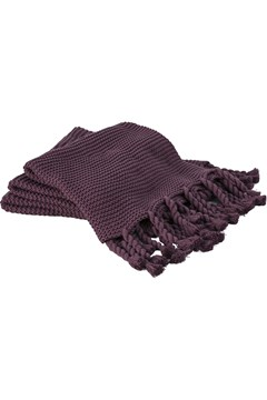 Tallet Throw - mulberry