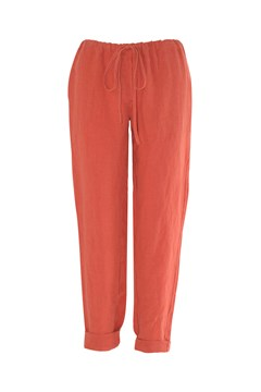 Lorenzo Pant BURNT ORANGE 1