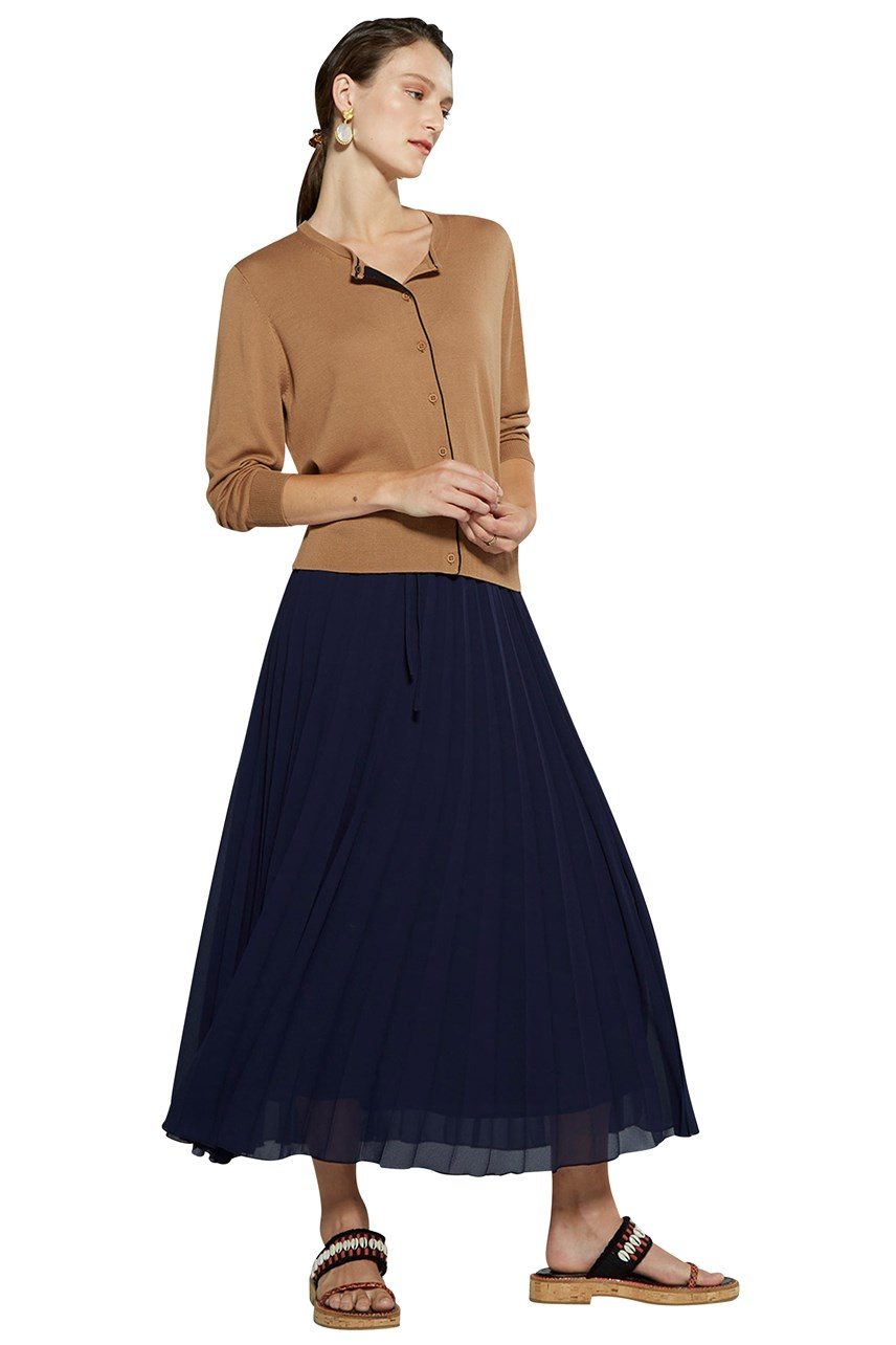 Orella Pleat Skirt