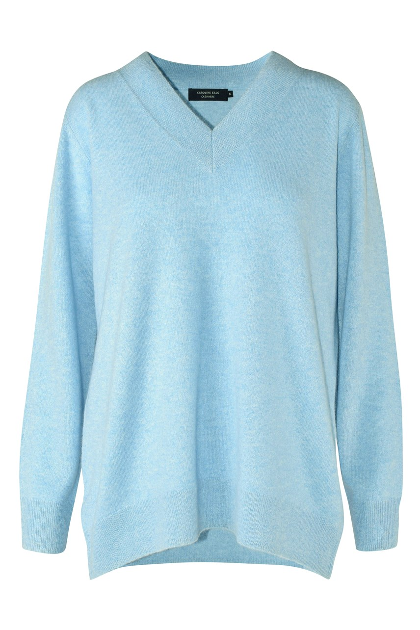 Marta Cashmere V Neck Sweater