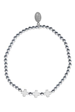 'Opposites Attract Three' Bracelet SILVER 1