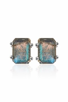 Prima Donna Earrings LABRADORITE SILVER 1