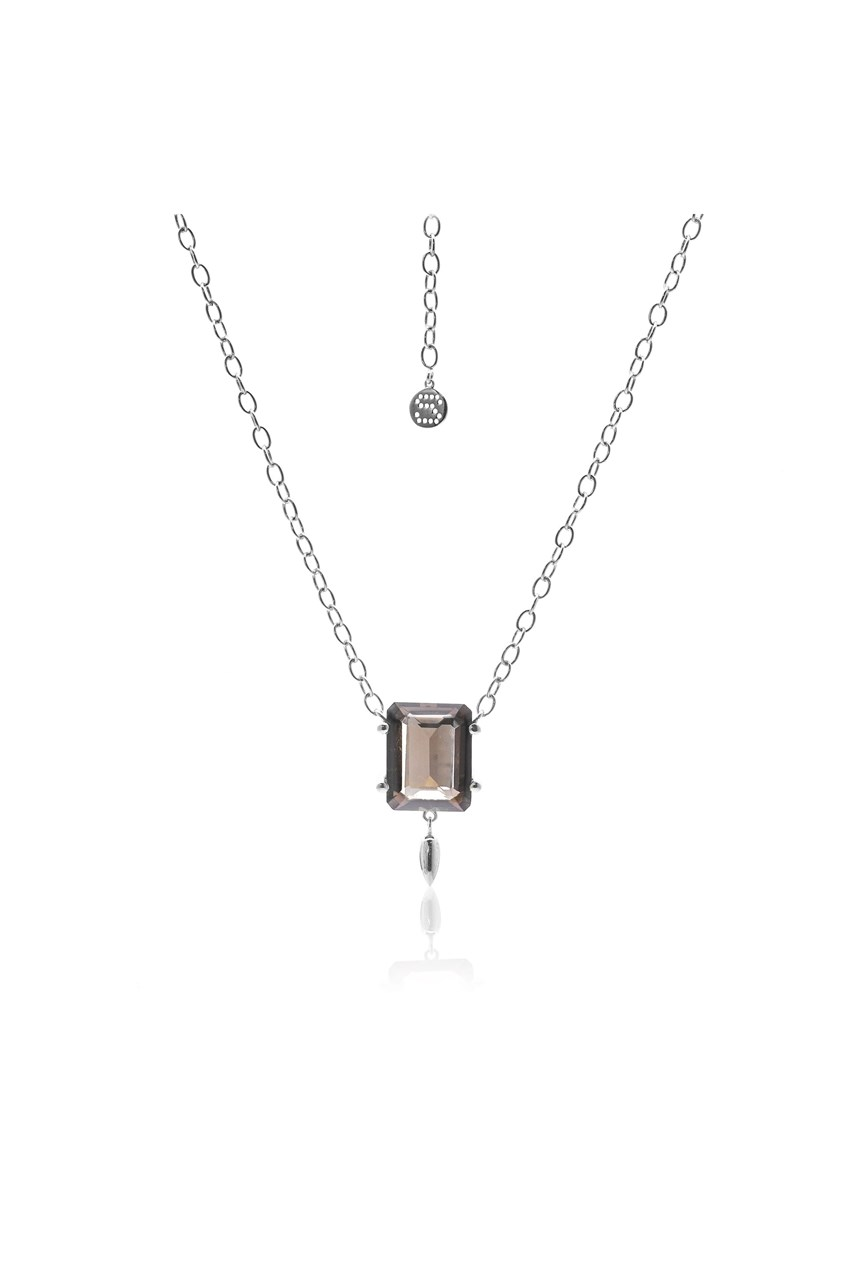 Prima Donna Smokey Quartz Necklace