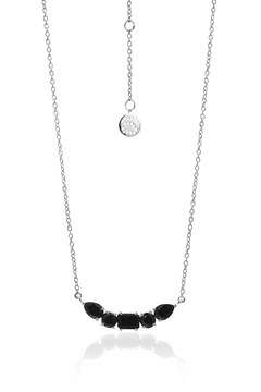Amore Necklace BLACK SILVER 1