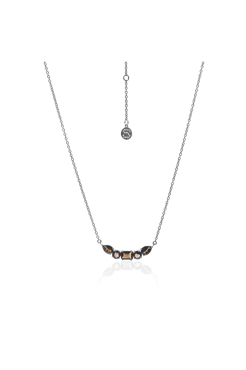 Amore Smokey Quartz Necklace