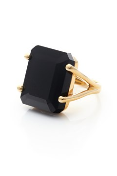 Prima Donna Ring BLACK SPINEL GOLD 1