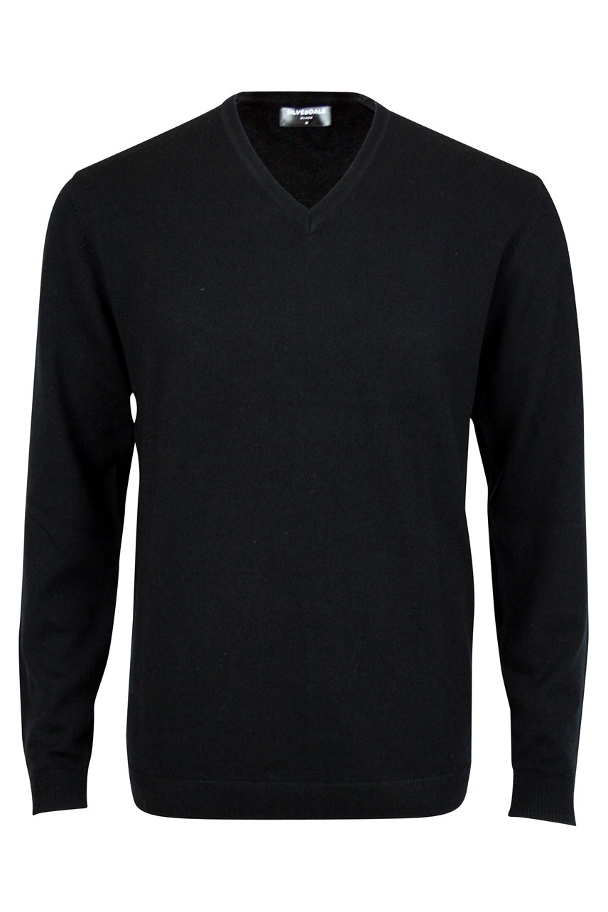 Fine Merino Tailored Fit V-Neck Jersey