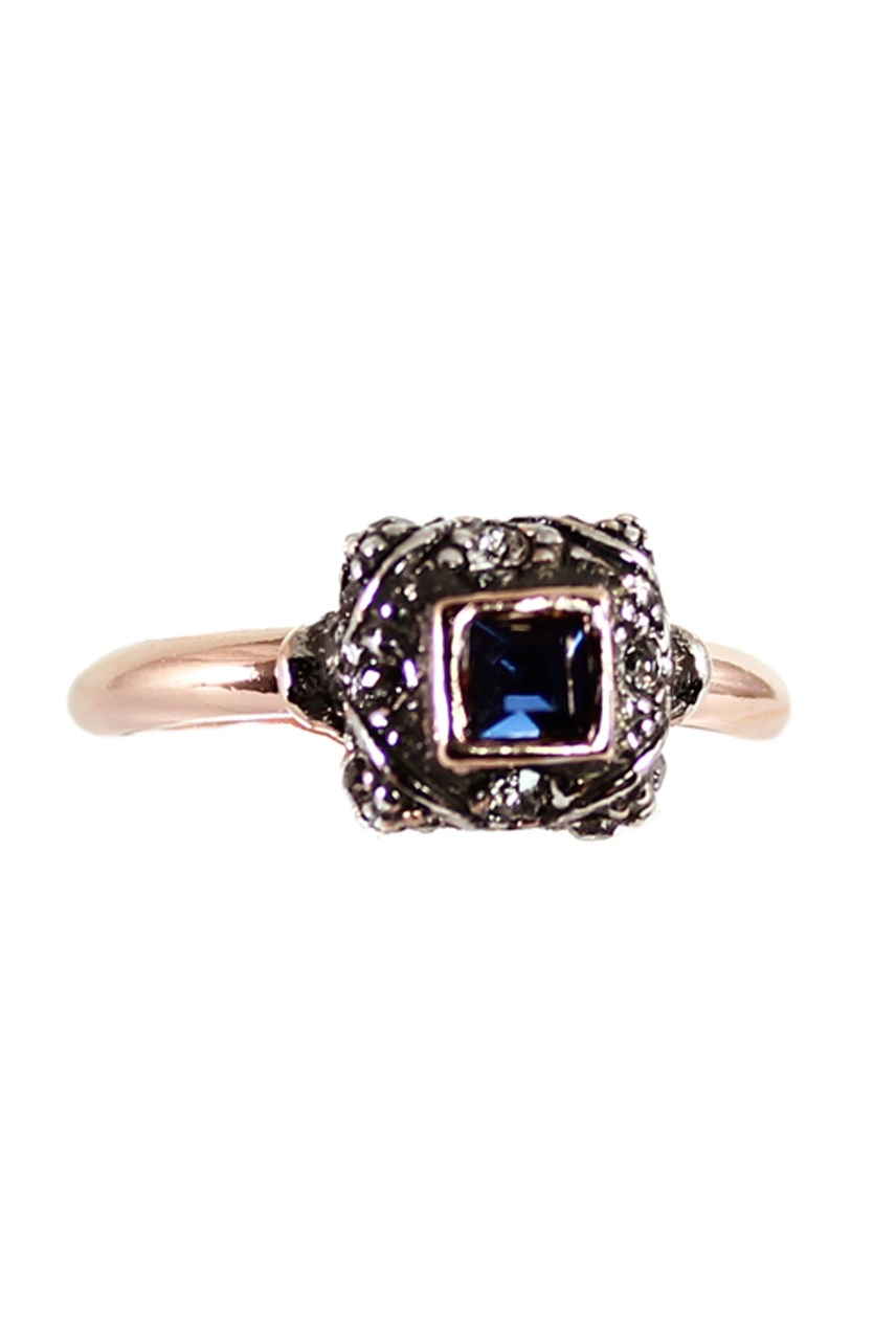 Dark Blue Fume Ring