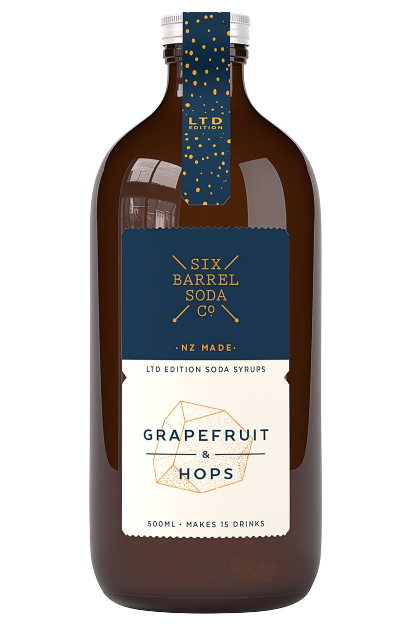 Grapefruit & Hops Syrup