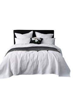 Taika Bedcover Set - white