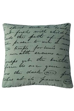Love Poem Cushion 1