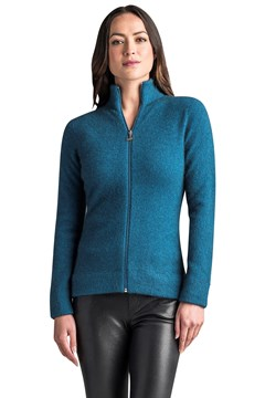 MM Felted Jacket - crevasse