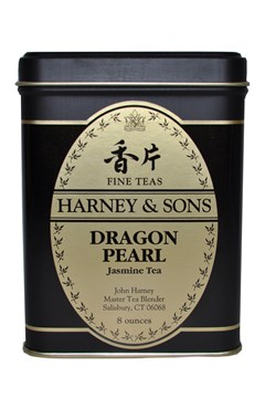 'Loose Leaf Tin' Dragon Pearl Jasmine Tea 8oz 1