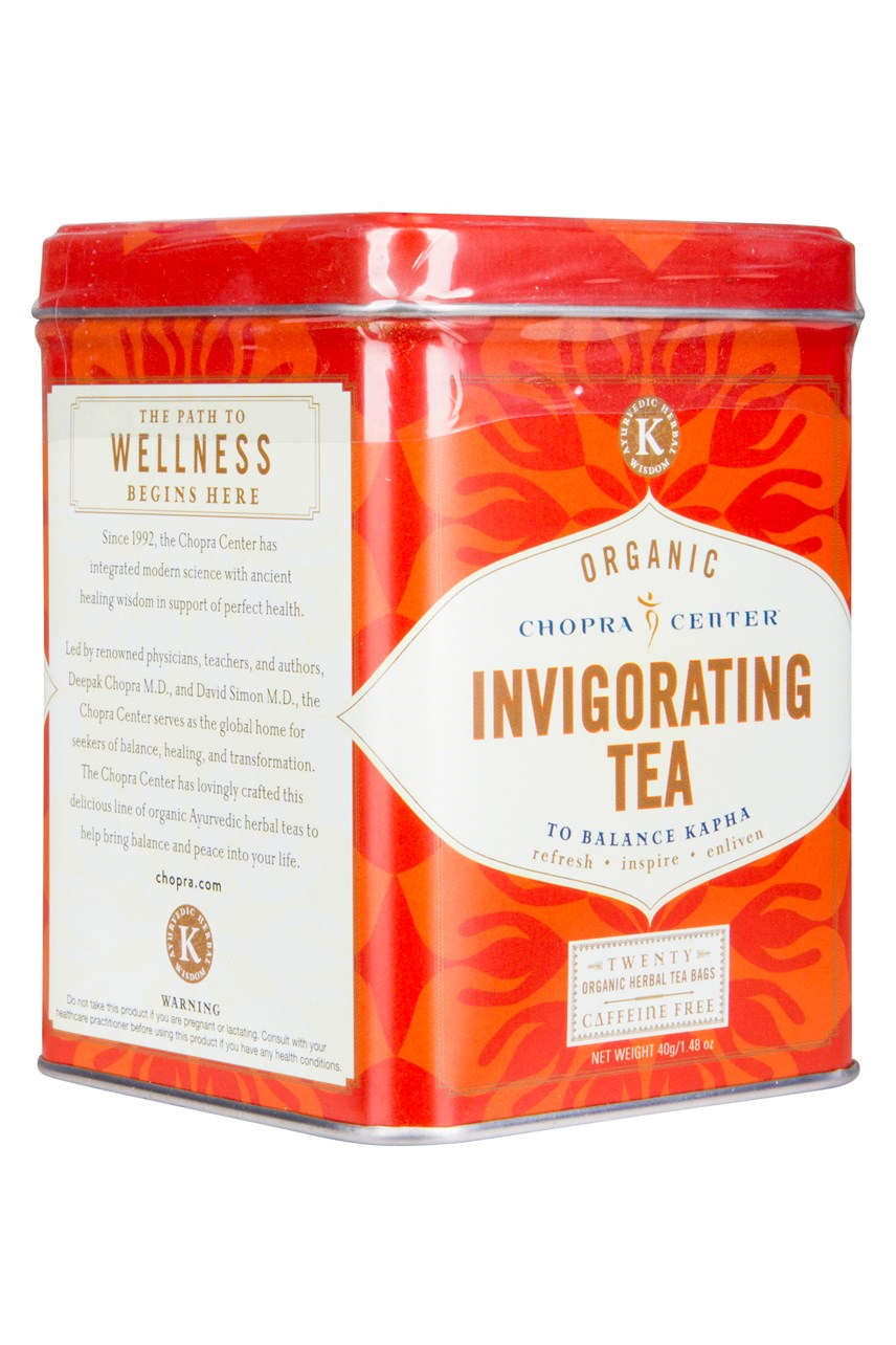 Organic Chopra Center Invigorating Tea