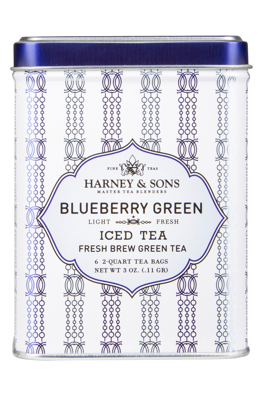 Blueberry Green Iced Tea