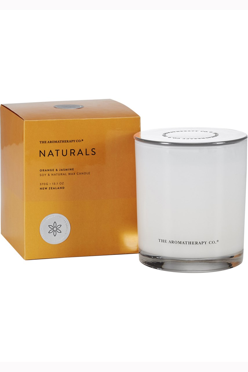 Naturals Orange & Jasmine Candle