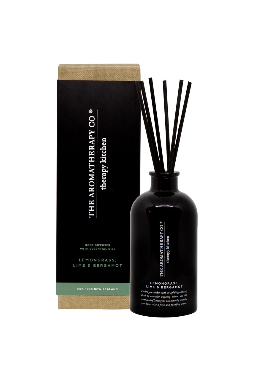 Therapy Kitchen Diffuser - Lemongrass, Lime & Bergamot