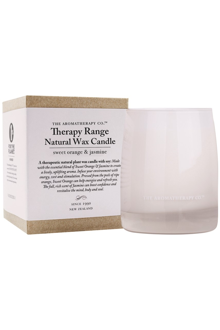 Therapy Natural Wax Candle - Sweet Orange & Jasmine