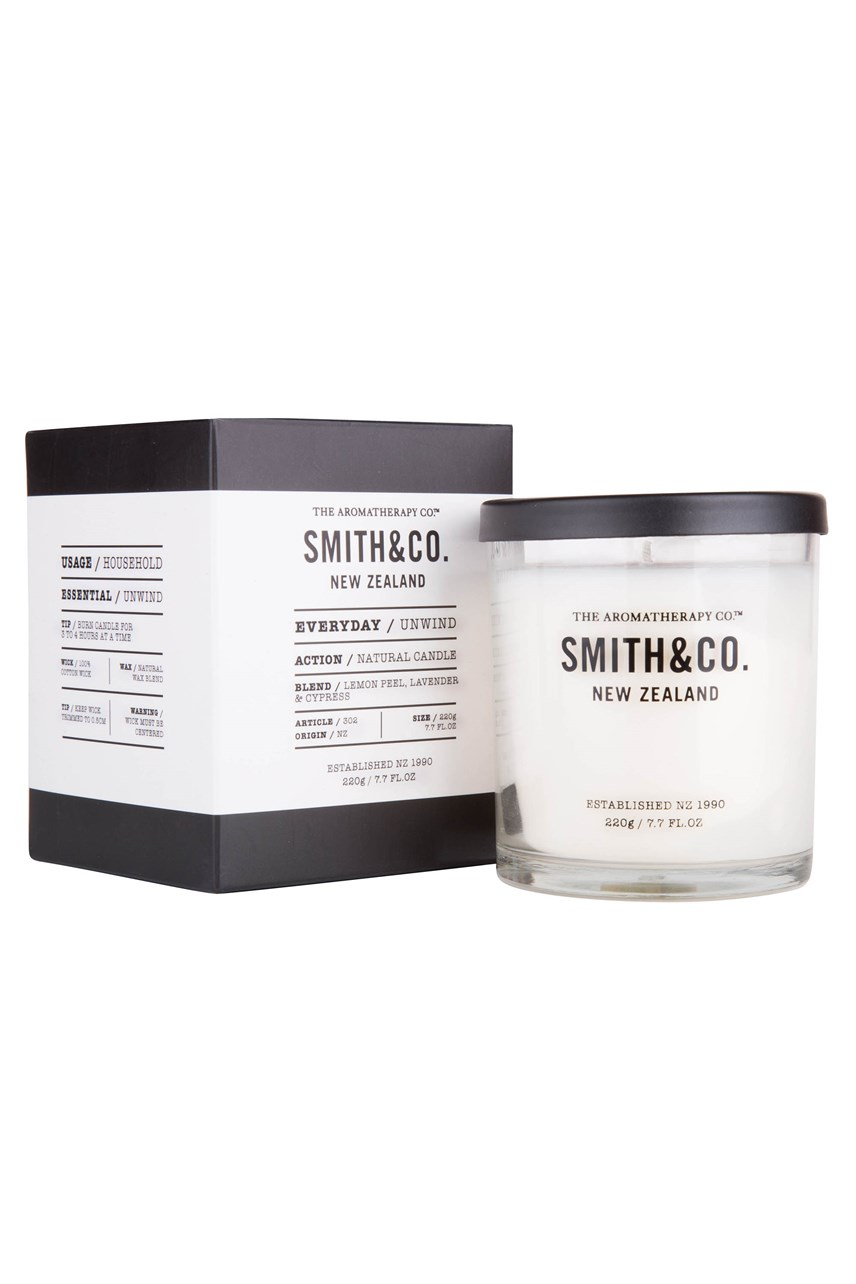 * Smith & Co. 'Unwind' Candle