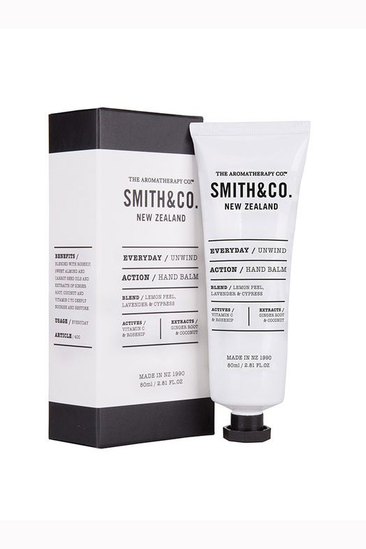 Smith & Co. Unwind Lemon Peel, Lavender and Cypress Hand Balm