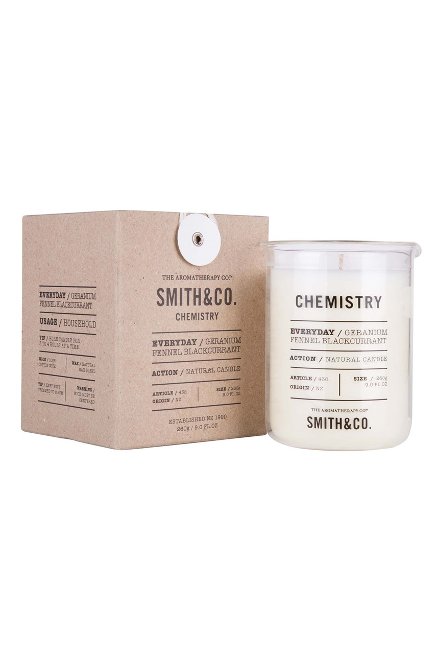 Smith & Co. 'Chemistry' Candle - Geranium, fennel, blackcurrant