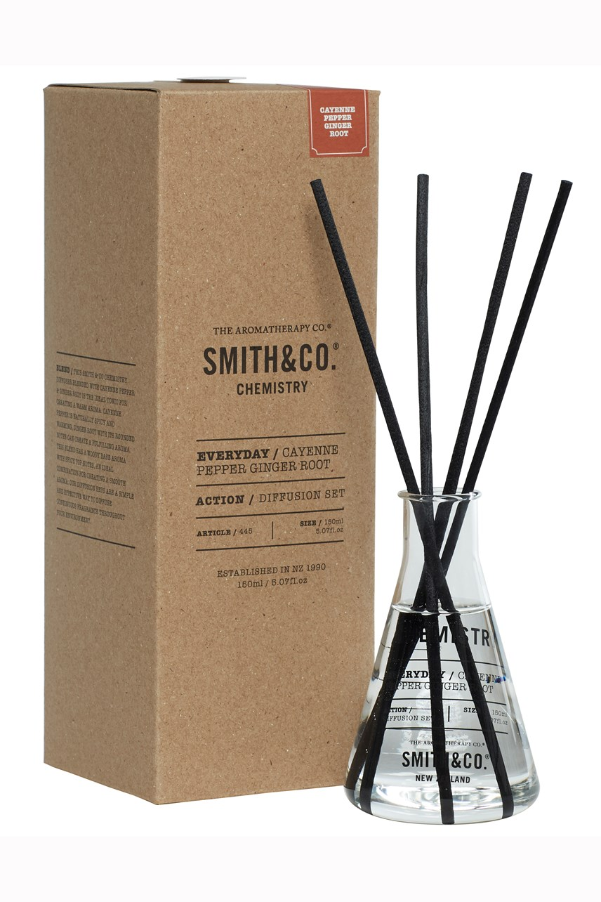Smith & Co. Cayenne Pepper & Ginger Root Chemistry Diffuser