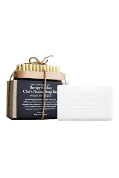 'Therapy' Kitchen Chefs Soap Bar & Nail Brush 1