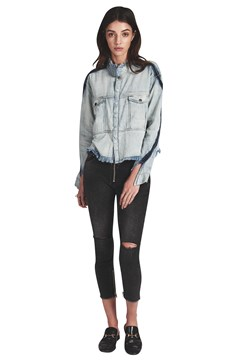 New Wave Denim Shirt DIAMONDE 1